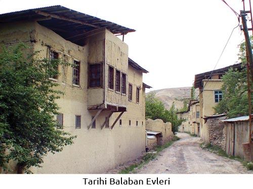 Tarihi Balaban Evleri