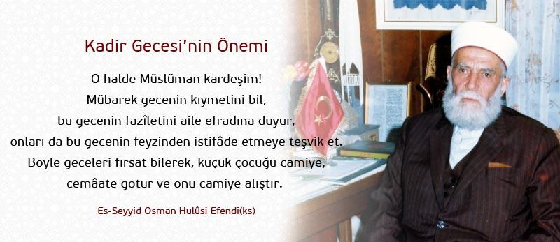 osman hulusi efendi