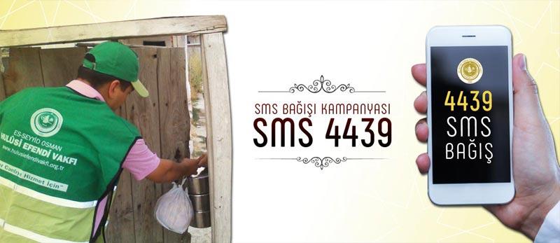 sms bağışı 4439