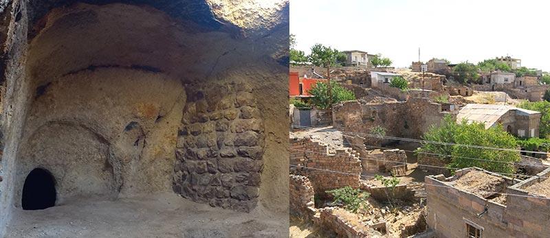 Kayseri Talas Akçakaya Mahallesi Şeyh Hamid Tekkesi ve Tarihi evler