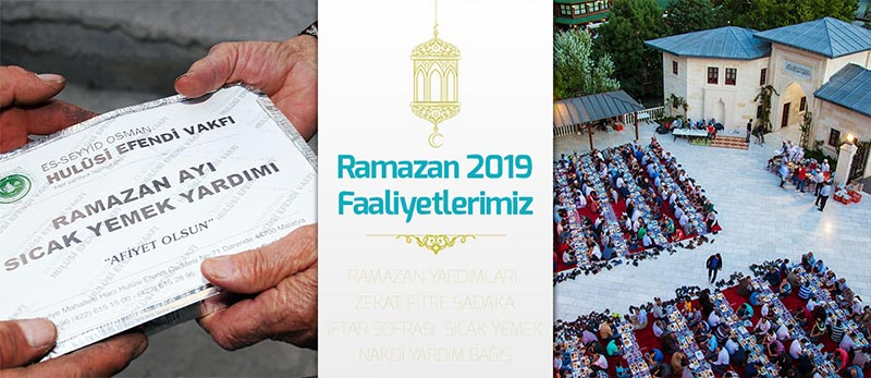 hulusi-efendi-vakfi-ramazan-faaliyetleri 2019