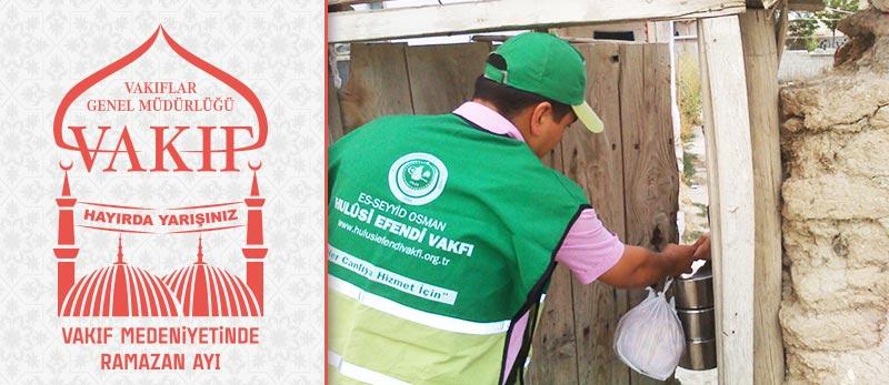 malatya vakıf haftası etkinlikleri hulusi efendi vakfı sıcak yemek yardımı