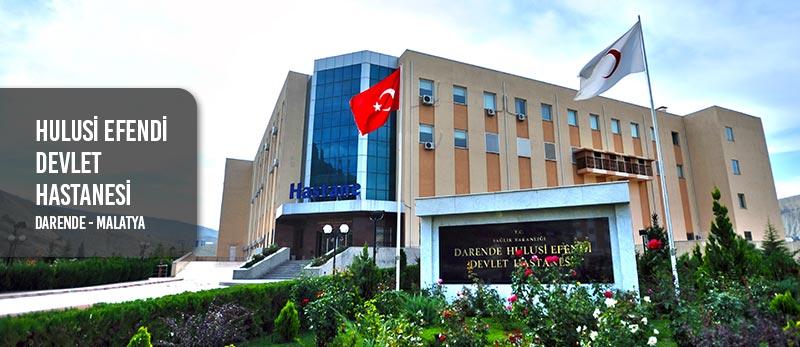 hulusi efendi devlet hastanesi darende malatya