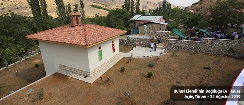 Hulusi efendi müzesi açılış töreni darende hacılar mahallesi