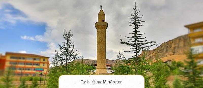 tarihi yalnız minareler darende