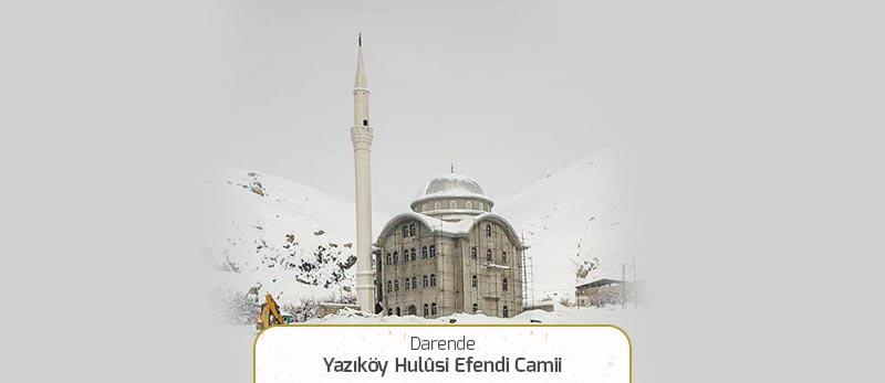 yazikoy hulusi efendi camii