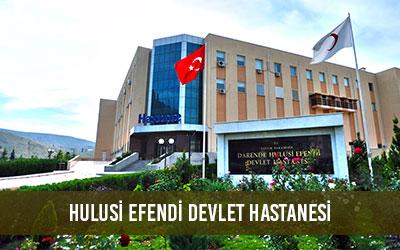 hulusi efendi devlet hastanesi