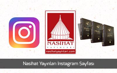 Nasihat yayinlari instagram sayfasi