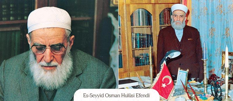 osman hulusi efendi vefat yildonumu 14 haziran